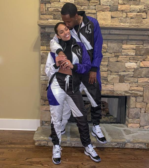 Safaree Samuels And Erica Mena Rock Matching Tracksuits (2)