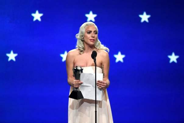 Lady Gaga 2019 Critics' Choice Awards