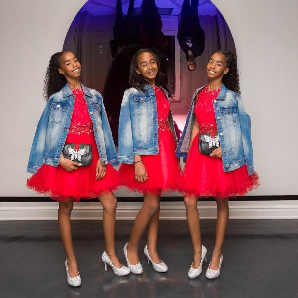 Diddy's Daughters Backup Dancers Diana Ross' 75th Birthday Celebration (4)