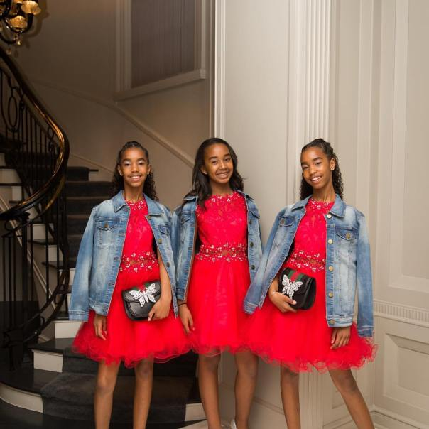 Diddy's Daughters Backup Dancers Diana Ross' 75th Birthday Celebration (3)