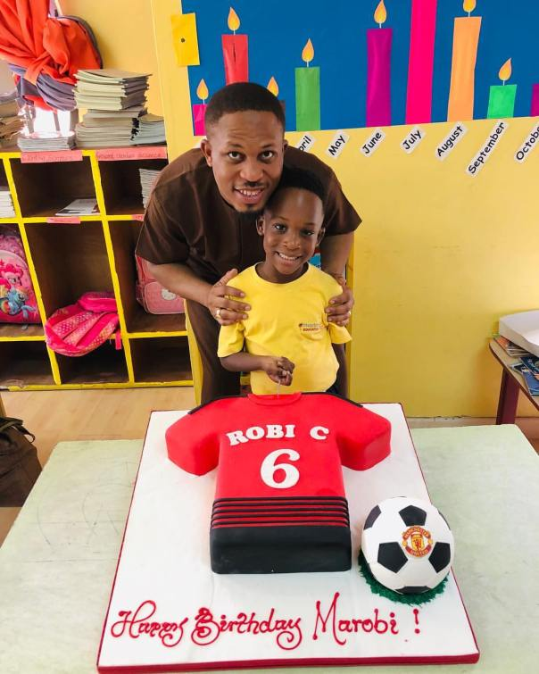 Naeto C Celebrates Son Marobichukwu Chikwe On His 6th Birthday (2)
