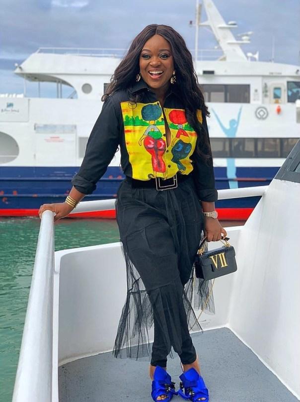 Jackie Appiah Visits Robben Island