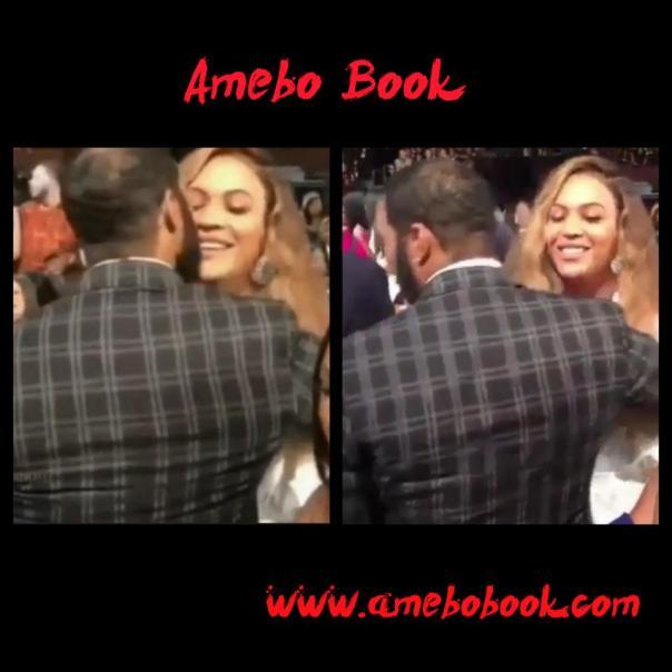 Omari Hardwick Kissing Beyonce At NAACP Image Awards
