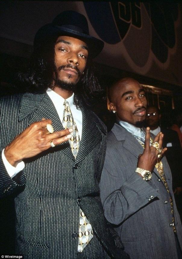 Snoop Dogg With Tupac Shakur