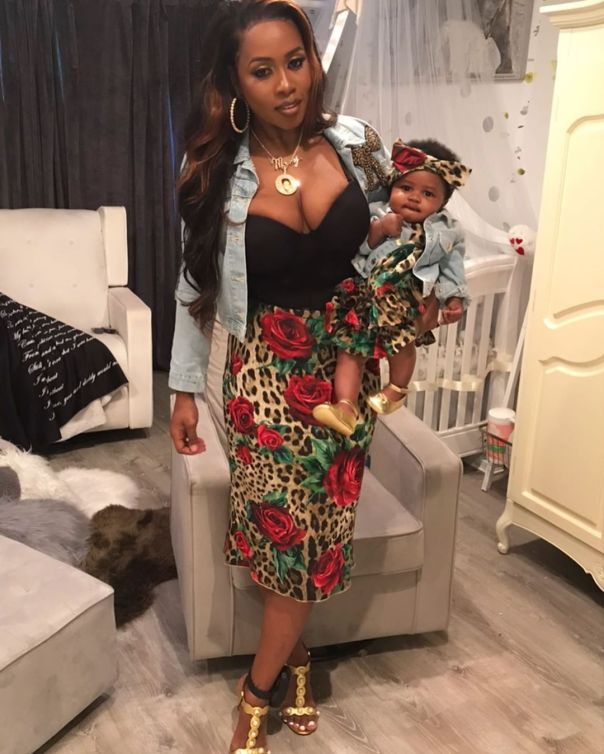 Remy Ma And Daughter MacKenzie Matching Outfits (4)