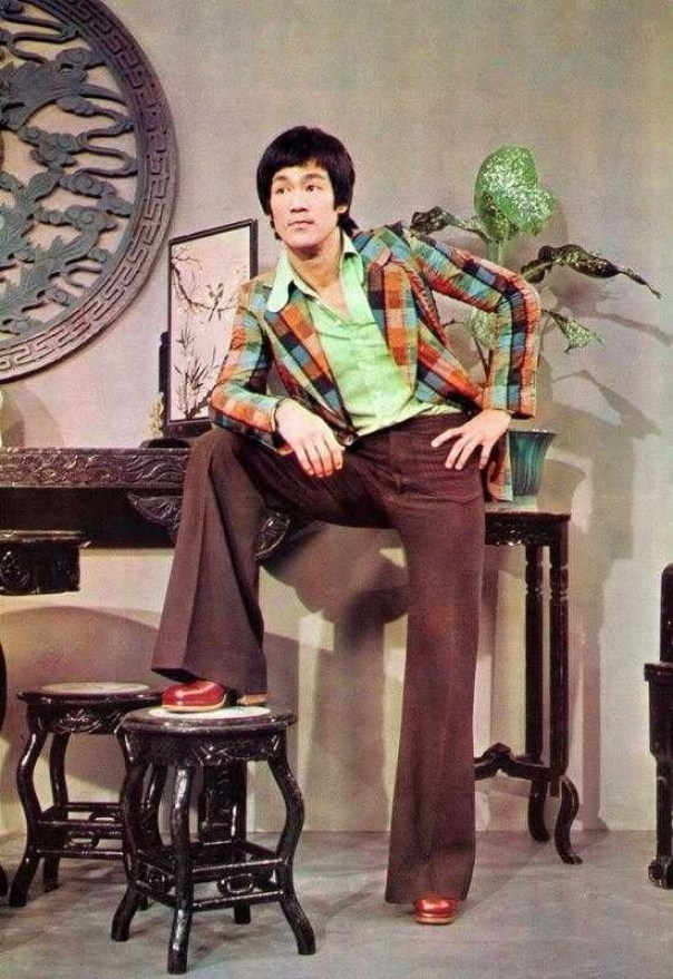 Martial Artist Bruce Lee