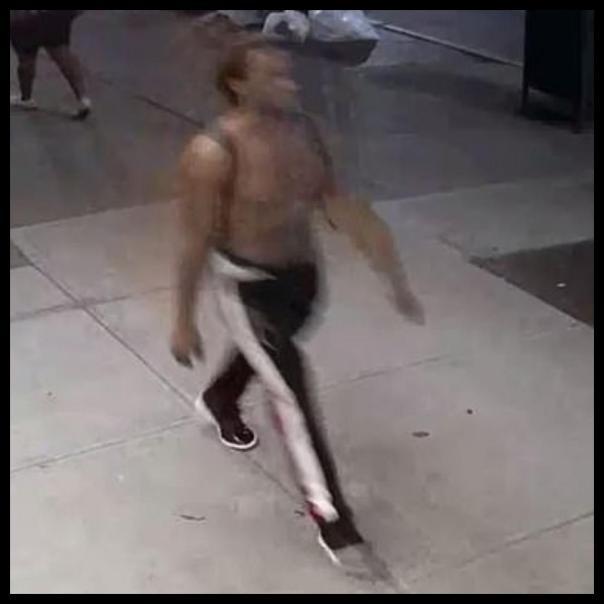Manhattan Black Man Committing Hate Crimes Against White People