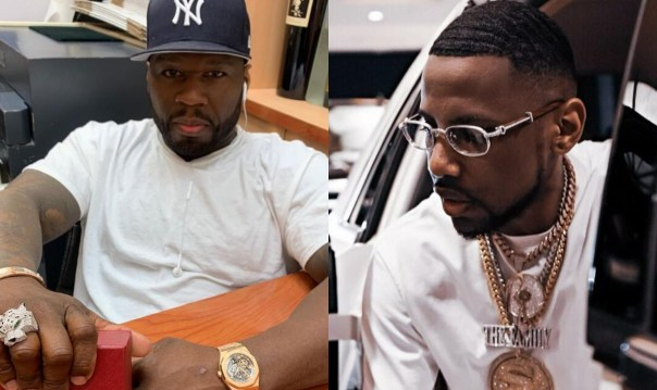 50 Cent Thinks Fabolous Will Steal His Women At His Pool Party (2)