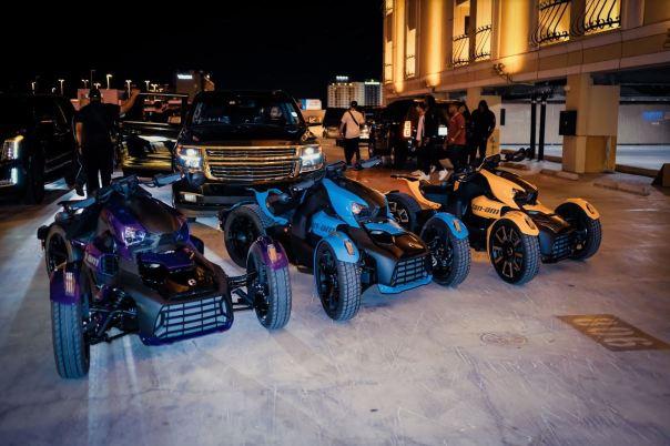 Migos Custom Three-Wheel Rykers Motorcycles (2)