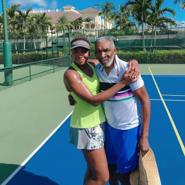 Venus Williams Gushes About Father Attending Her Practices
