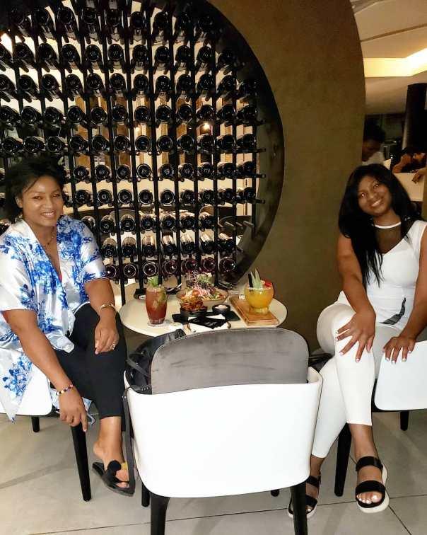 Omotola And Daughter Princess Hang Out (2)