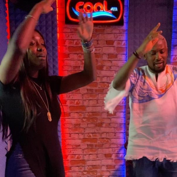OAP Dotun Teaches Tolani Otedola How To Dance Zanku