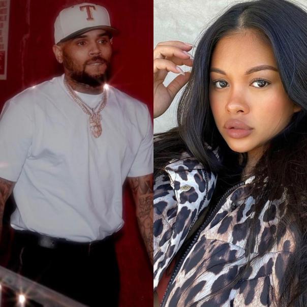 Chris Brown Ammika Harris Welcome Baby Boy