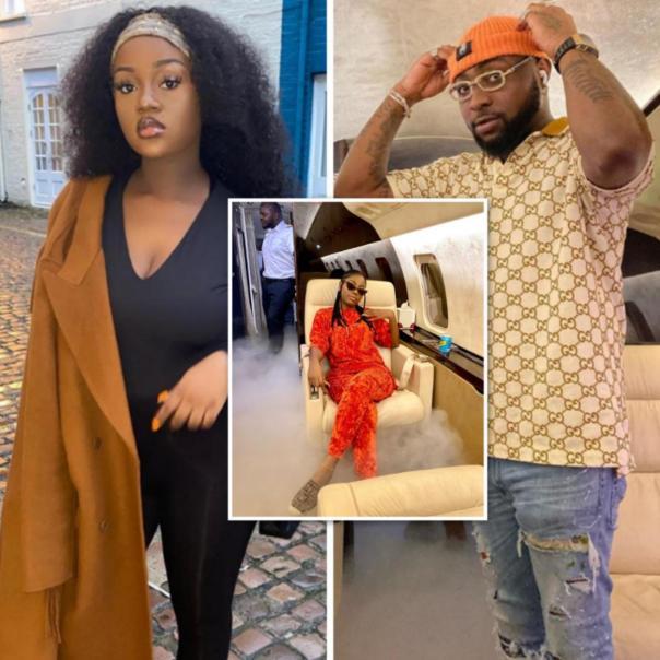 Chioma Reacts After Davido Takes Sophia Momodu To Ghana