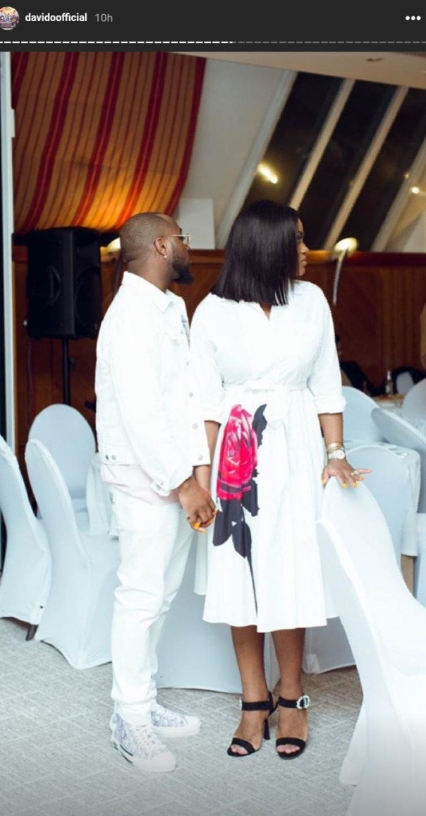 Davido Back With Chioma Settled Quarrel (2)