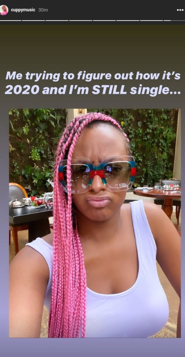 DJ Cuppy Trying To Figure Out How She's Still Single In 2020 (2)