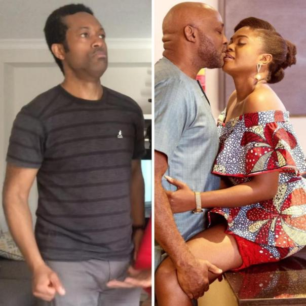 Love Is War: Fans React As Omoni Oboli And RMD Lock Lips In New Movie