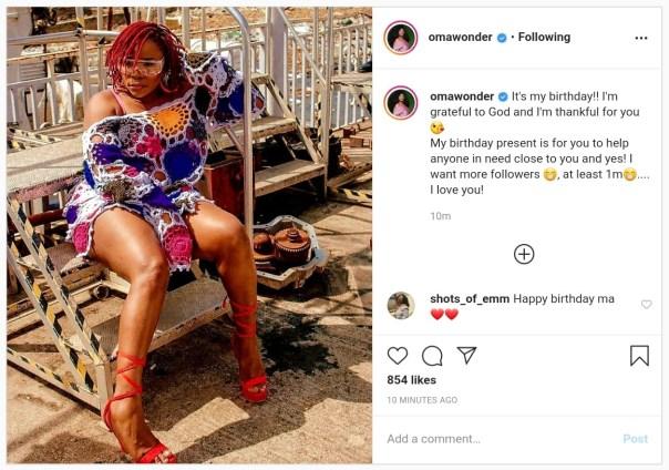 Omawumi Celebrates Birthday (2)