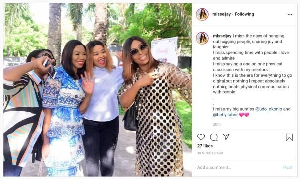 Kcee's Wife Ijeoma Okonkwo Laments Over Lockdown (2)