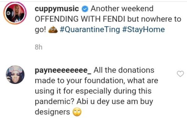 Troll Accuses DJ Cuppy Of Using Foundation Donations To Buy Designers (2)