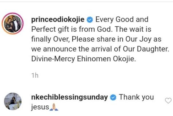 Mercy Johnson Welcomes 4th Child Divine-Mercy Ehinomen Okojie (2)