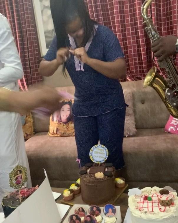 Adeniyi Johnson Surprises Seyi Edun With Birthday Gifts (3)