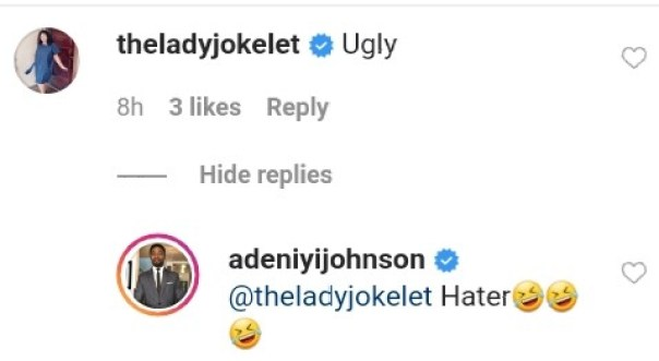 Ugly Adeniyi Johnson Multicolored Hairstyle Joke Jigan (3)