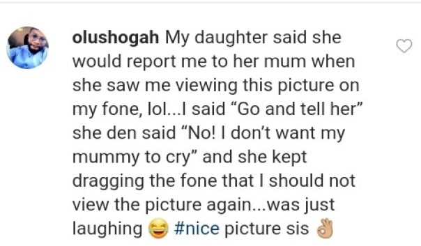 Daughter Said She Would Report Dad To Wife Over Funmi Awelewa Picture (2)
