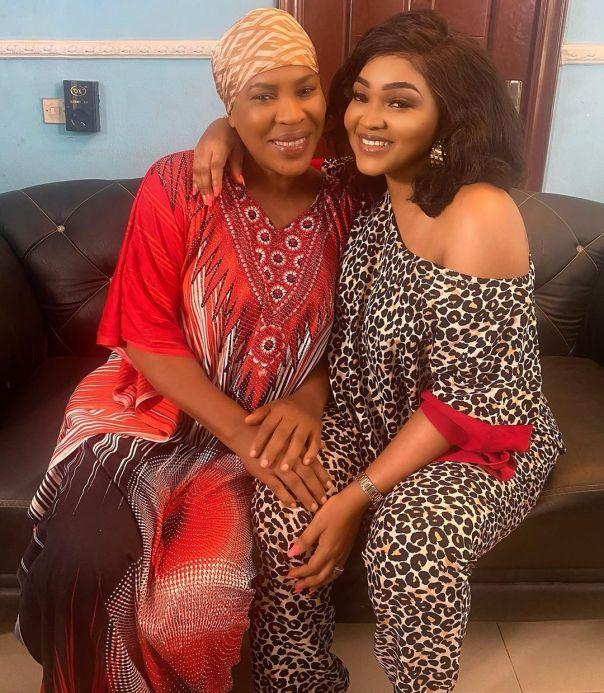 Mercy Aigbe With Ageless Beauty Faithia Williams