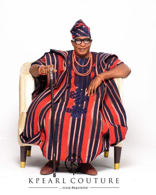 Femi Adebayo And Adebayo Salami Traditional Attires (3)