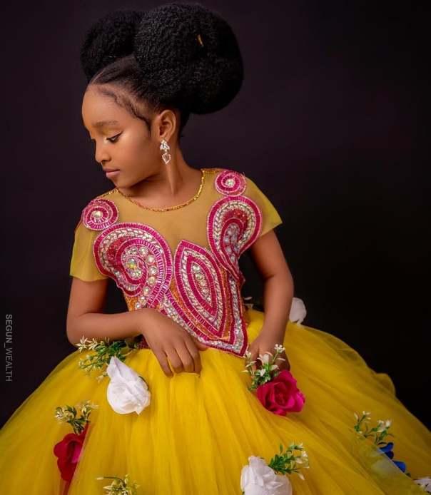 Bimbo Afolayan Daughter Aliyah 7th Birthday (3)