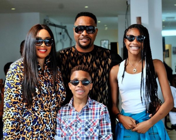 Bolanle Ninalowo Family Throwback Launch Jacobs Salon And Spa