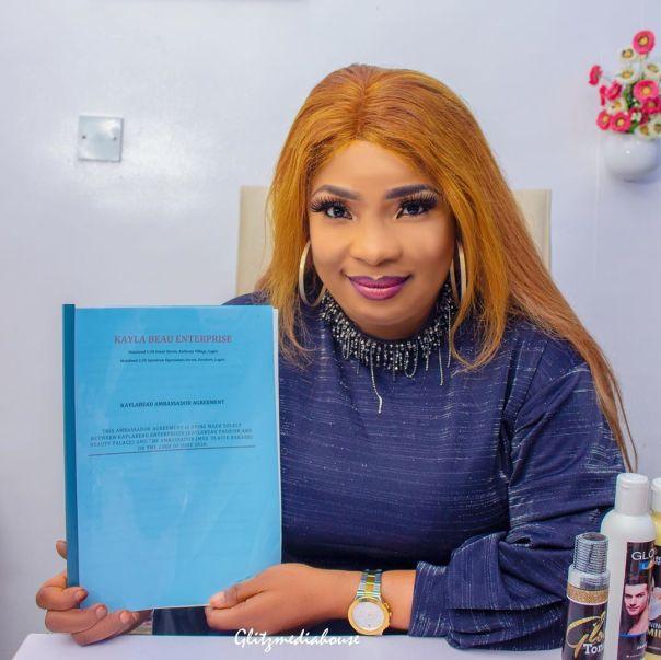 Laide Bakare Beautification Endorsement Deal (2)