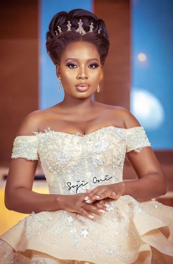 Adebimpe Oyebade Wedding Dress