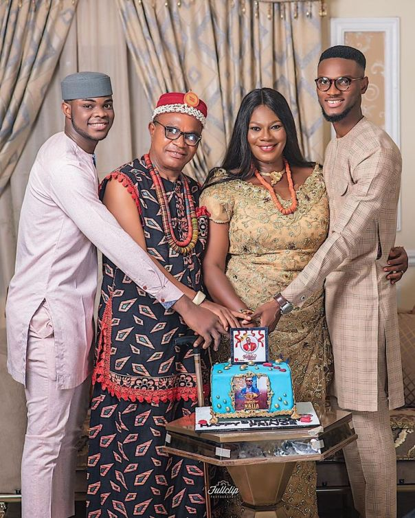 BBNaija Prince Birthday Family Photos (2) - Amebo Book