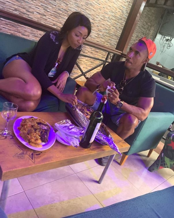 Belinda Effah And Gideon Okeke Hang Out (4) Amebo Book