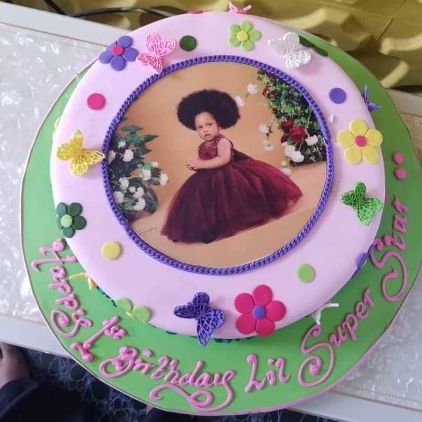 Ronke Odusanya's Daughter Fife 1st Birthday Cakes (3) Amebo Book