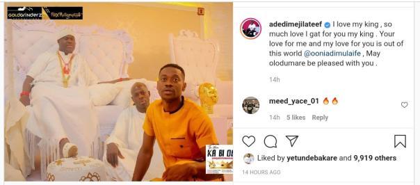 Lateef Adedimeji Meets Ooni of Ife (2) - Amebo Book