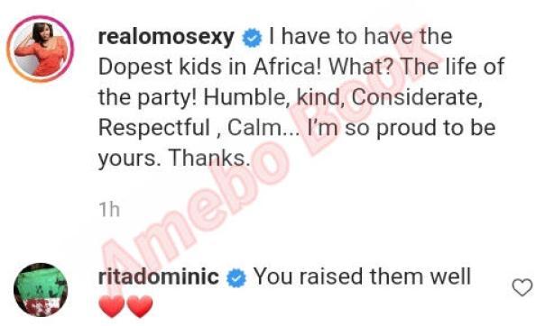Omotola Jalade Kids Dopest In Africa (2) Amebo Book