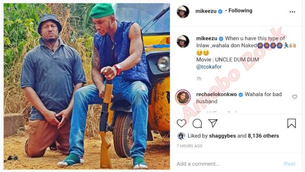 mike ezuruonye and rachael okonkwo uncle dum dum (2)