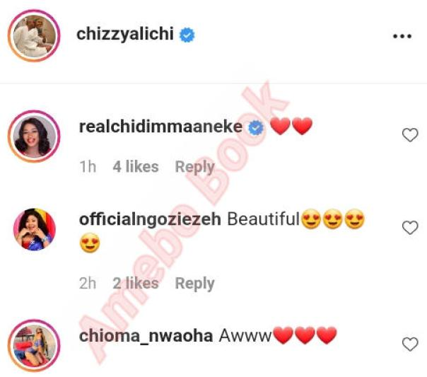 Chizzy Alichi And Husband Throwback (3) Amebo Book