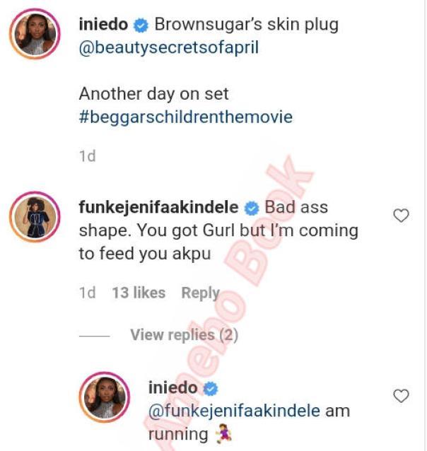 Funke Akindele Coming To Feed Ini Edo Akpu (2)