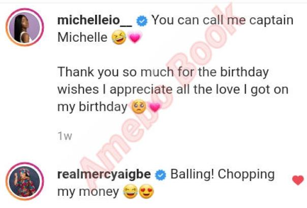Mercy Aigbe Daughter Michelle Chopping Her Money (3)