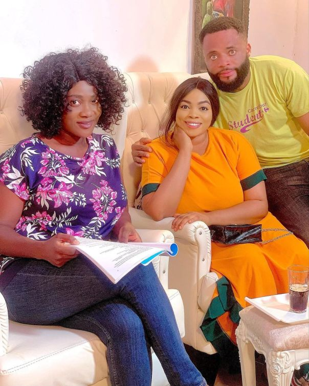 Nice Doing This Mind Blowing Movie With You Georgina Ibeh (4)