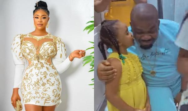 Mimi Orjiekwe Daughter Pecks Don Jazzy
