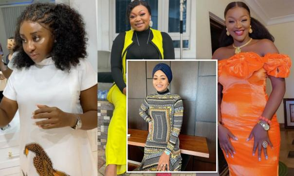 "Nollywood Actress Who Was ""Born To Excel,"" Regina Daniels Gets Massive Reaction From Ini Edo, Ruth Kadiri And Chacha Eke Faani [Photos]"