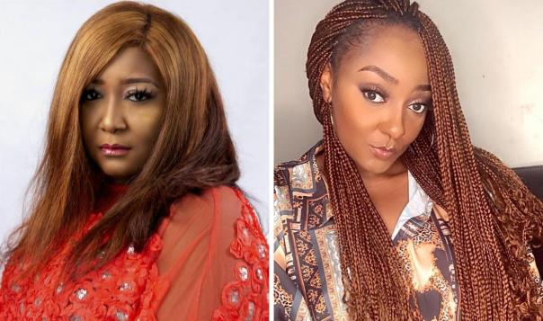 """""""When The Young Decides To Fight The Old, It's A Worrisome Situation – Ebele Okaro Says As She Shares Scene From New Movie"""