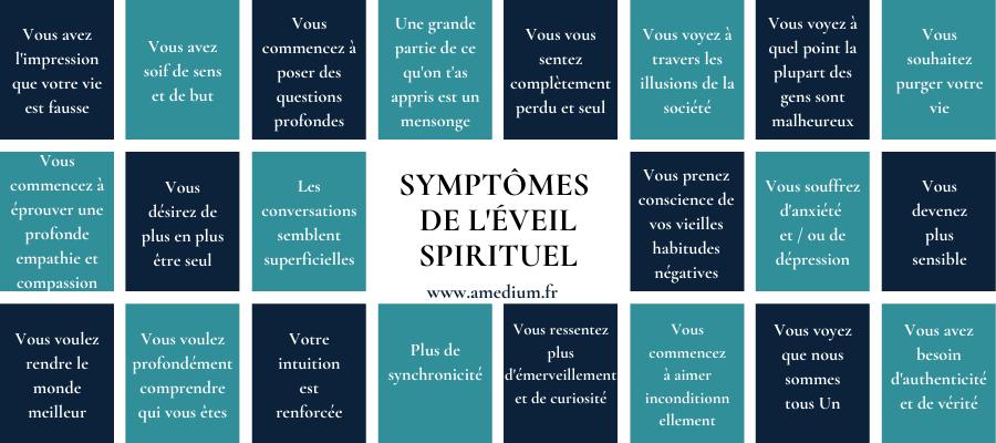 symptômes de l'éveil spirituel