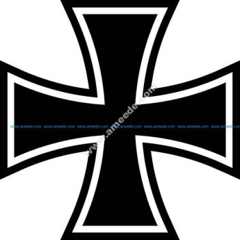Iron Cross .dxf