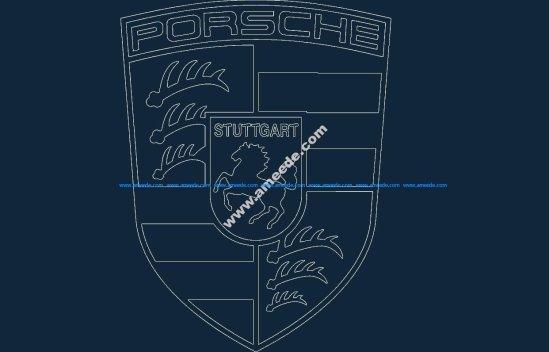 Porsche acad dxf file